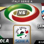 Prediksi Lazio vs Sampdoria