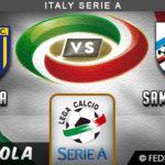 Prediksi Parma vs Sampdoria